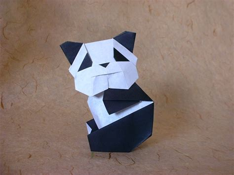 Panda Origami - origami troopers and an eye on