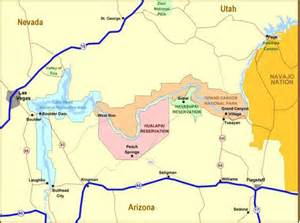 arizona indian reservation map object moved