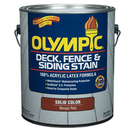 acrylic paint stain olympic deck repair home design ideas