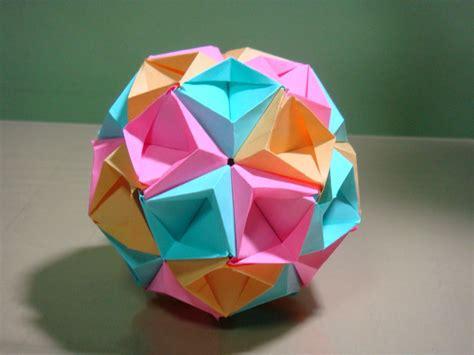 Origami Sea - origami maniacs origami sea kusudama by tomoko fuse