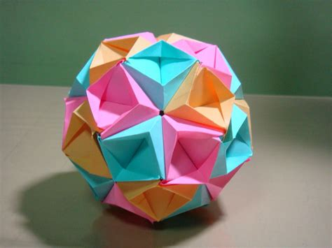 Origami Kusudama - origami maniacs origami sea kusudama by tomoko fuse