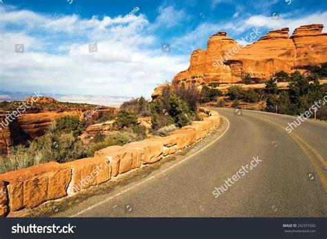 Landscape Rock Grand Junction Co Western Colorado Landscape Colorado Monument Road Stock