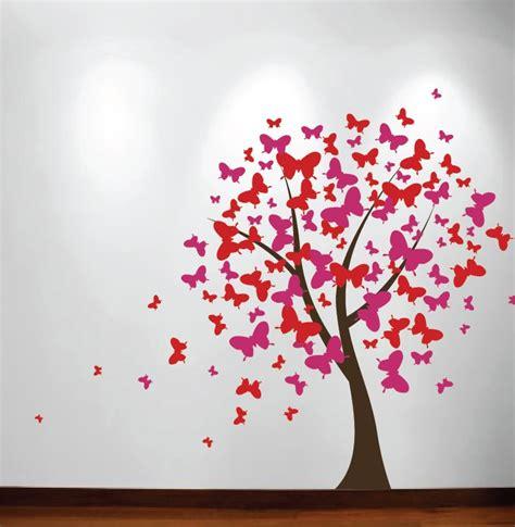 Flower Fairies Wall Stickers butterfly tree nursery wall decal 1140 innovativestencils