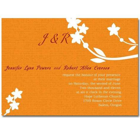 Orange Theme Wedding Invitations by 33 Best Orange Theme Invites Images On