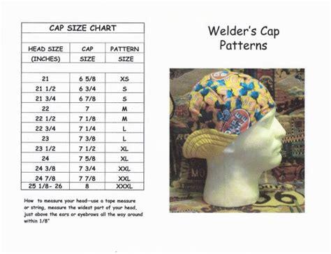 diy pattern welding welder s hat cap pattern for 6 panel short crown by