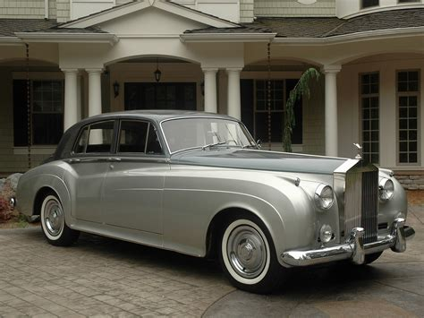 rolls royce silver cloud 1960 rolls royce silver cloud ii information and photos