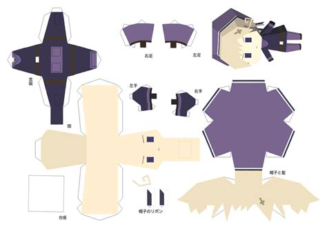 paper craft by xxkuraikoxx on deviantart