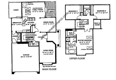 essex homes floor plans essex model in the enclave subdivision in arlington