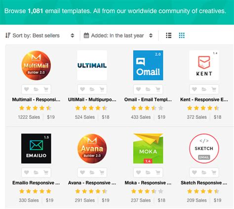 newsletter responsive template 20 responsive email newsletter templates for your next