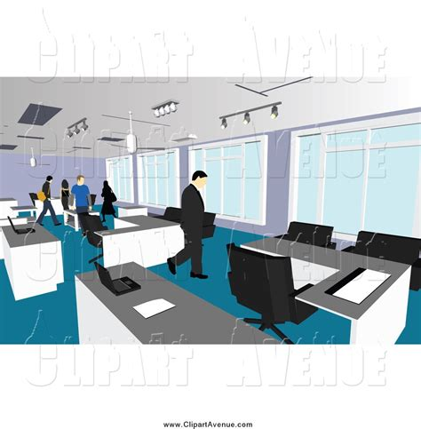 clipart office office clipart office environment pencil and in color