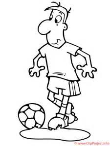 fussball malvorlage fussballer