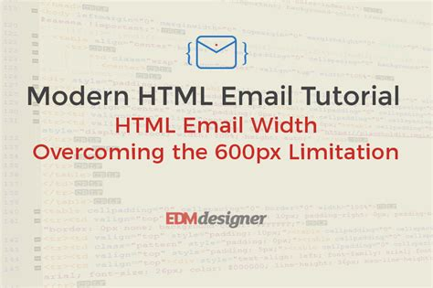 pattern in html for email html email width overcoming the 600px limitation