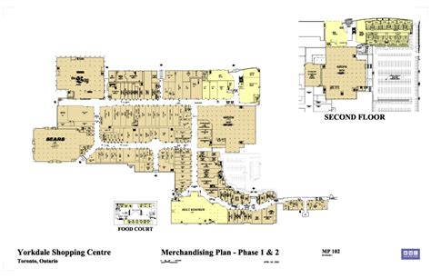 yorkdale mall floor plan 187 yorkdale phase 1 2 20 vic management inc