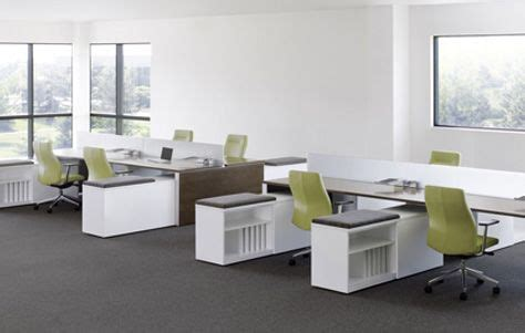 office desk configuration ideas work spaces without walls for better collaboration work