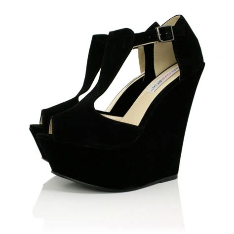 shoes for black wedges shoes