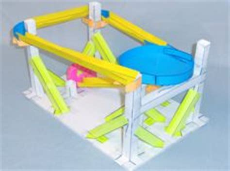 index card roller coaster templates pdf paper roller coaster information