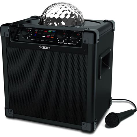 ion bluetooth speaker with lights ion audio party rocker plus party rocker plus with