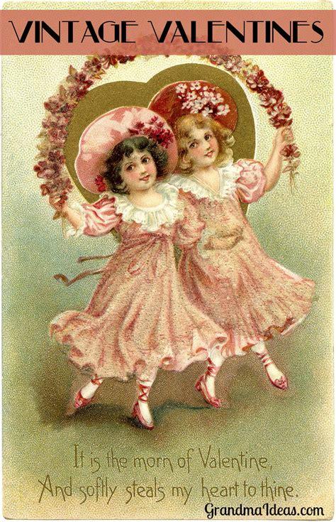 vintage valentines day cards grandma ideas