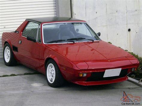 fiat x1 9 car classics