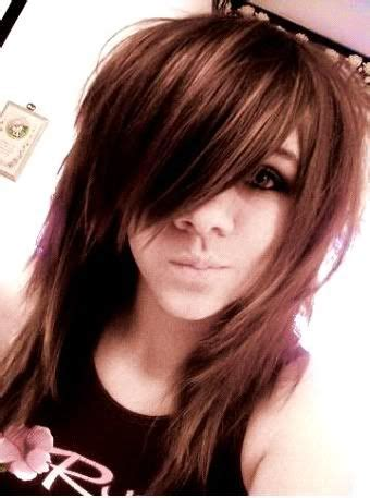 emo rock hairstyles hair dont know what her face is though lol hair