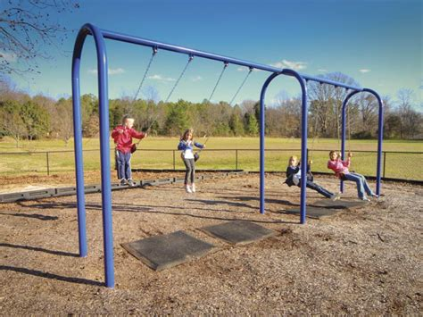 Landscape Structures Arch Swing Us Playstructures Park Amenities