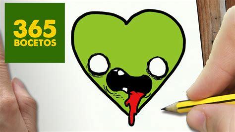 imagenes para wasap de halloween como dibujar corazon kawaii paso a paso dibujos kawaii