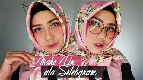 Eyeliner Dan Eyeshadow tutorial makeup ala selebgram makeup dengan blush on merona inivindy