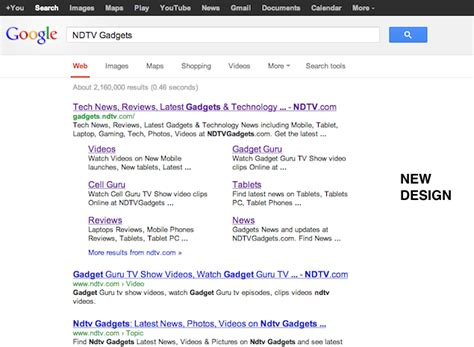 New Search Redesigns Search Results Get Rids Of Sidebar For Cleaner Look Technology News