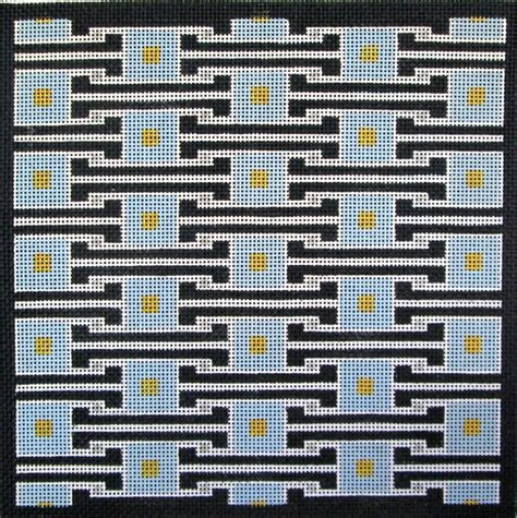 geometric designs needlepoint abstract ethnic needlepoint