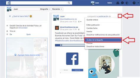 imagenes ocultas de facebook como recuperar las publicaciones ocultas de tu perfil de