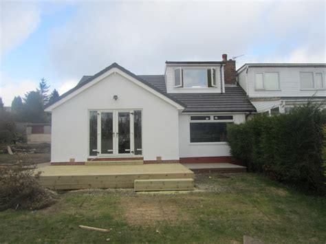 Dormer Bungalow Extension joinery and building contractors 100 feedback