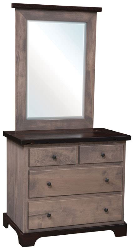 small bedroom dresser with mirror manchester small dresser ohio hardwood furniture