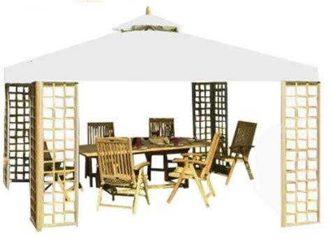 Pavillon Holz 3x4m by Belardo By Landmann Gartenpavillon Pavillon 3x4m Teak Holz