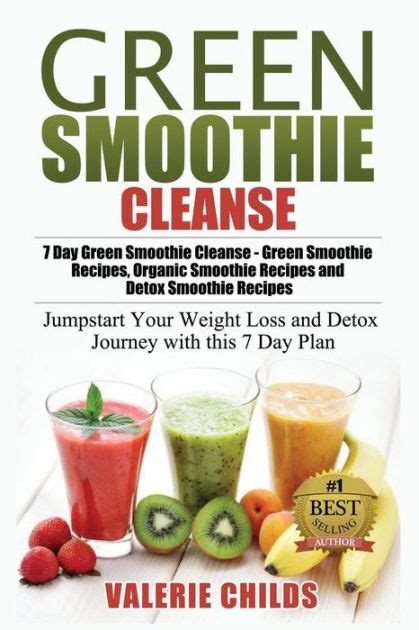 Smoothie Detox Plan by Green Smoothie Cleanse 7 Day Green Smoothie Cleanse