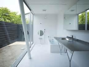 Modern Japanese Bathroom Design Black Cedar Three Level Modern House Difference Design