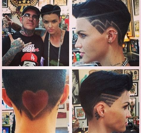 ruby rose before after haircuts ruby rose and catherine mcneil back to romance with