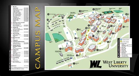 liberty university cus map west liberty university cus map by whitney inkster issuu