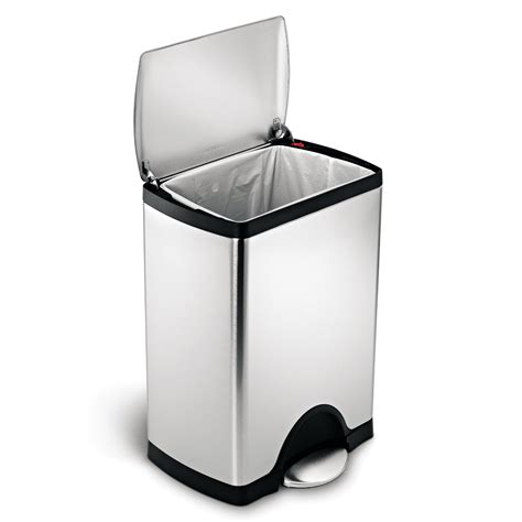 for your kitchen 10 best stainless steel trash cans for your kitchen