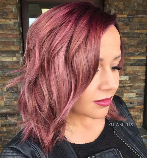 burgundy highlights on shag haircuts shag haircuts fine hair and your most gorgeous looks
