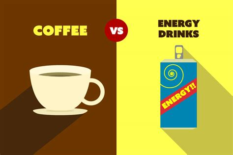 energy drinks vs coffee coffee vs energy drinks 5 reasons why coffee is a better