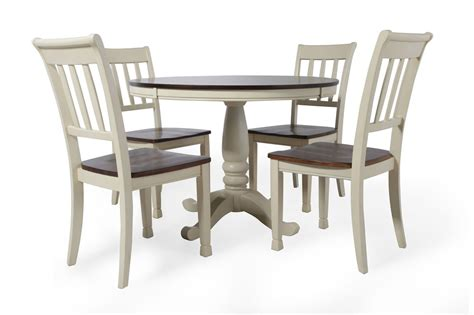 Ashley whitesburg cottage five piece dining set mathis brothers furniture