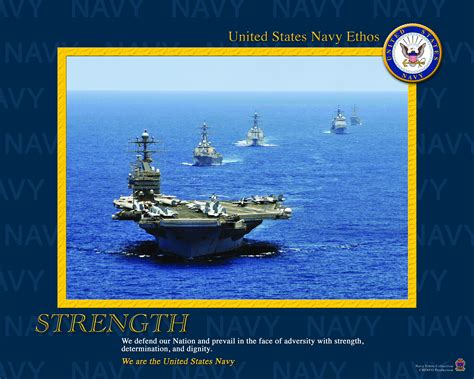 navy and united states navy ethos 2008