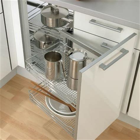 54017231 mesh base baskets for kitchen storage swing out corner storage unit complete set automatic pull