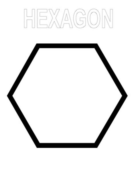 hexagon coloring download hexagon coloring