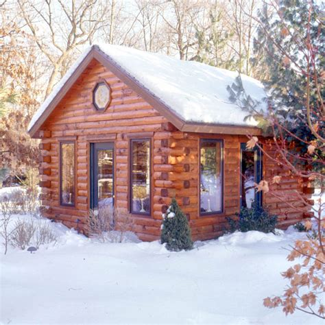 Cabin Styles by Log Home Colors 171 Real Log Style