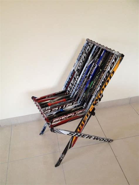 hockey stick bench 1000 images about hockey diy projects on pinterest