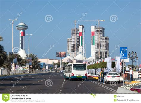 corniche residence abu dhabi corniche in abu dhabi editorial stock photo image of