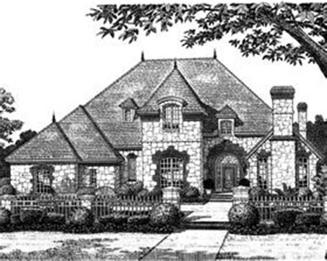 french tudor house plans european french country traditional tudor house plan 97832