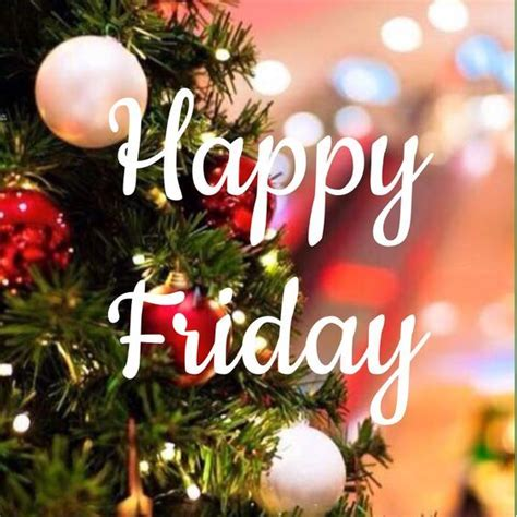 christmas tree happy friday quote pictures   images  facebook tumblr pinterest