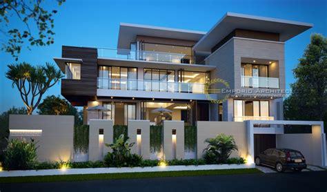 desain arsitektur rumah dengan atap datar pt desain rumah dengan atap datar jasa arsitek